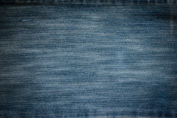 Texture of dark blue jeans