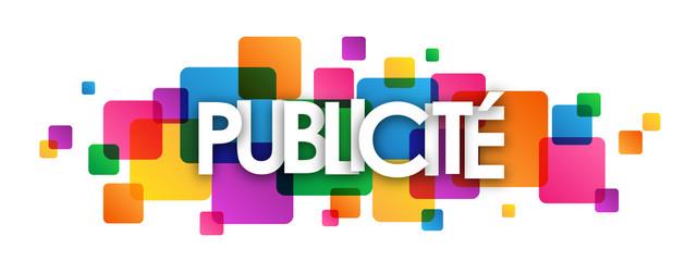 """Icône """"PUBLICITE"""""""