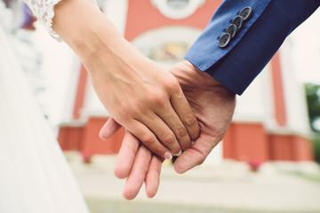Closeup of Couple Hands