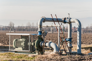 Irrigation water pumping system