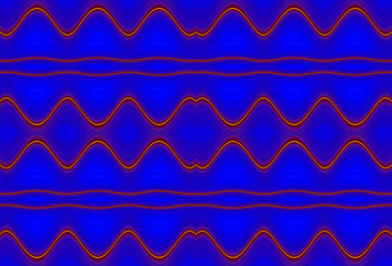 Abstract fractal high resolution seamless pattern background ideal for carpets, tapestries, fabric and wallpapers with a detailed wavy interconnected pattern