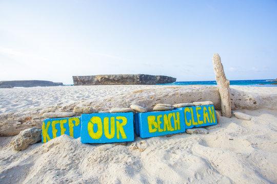 Keep our beach clean