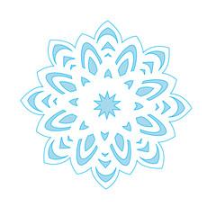 Snowflake Icon graphic.