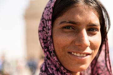 Indian gipsy girl, New Delhi, India