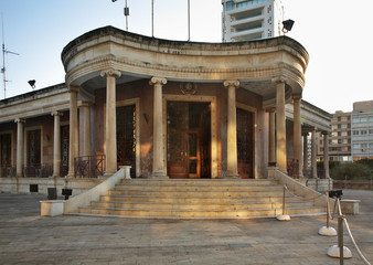 Town Hall in Nicosia. Cyprus