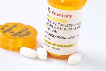 Facsimile Omeprazole Prescription.  Label created by photographer.