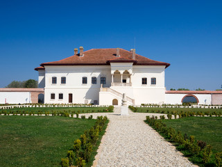 Constantin Brancoveanu's palace in Potlogi, Romania