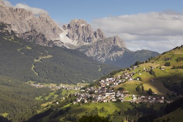 Comelico's valley and the dolomites of Sesto, Cadore, Dolomites, Italy