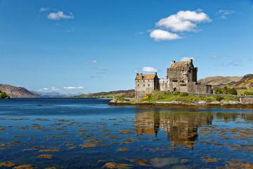 Famous Eilean Donan Castle Scotland, Great Britain