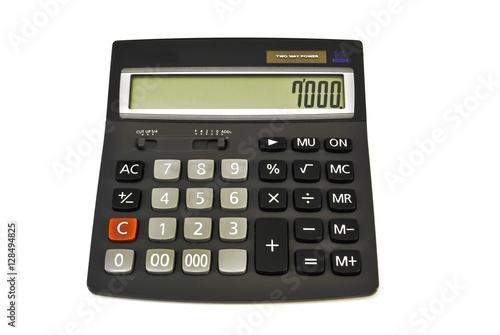Calculator/ Adding machine (Calculator) solar powered black