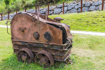 Old mining train, Spain