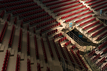 Empty Red Chairs
