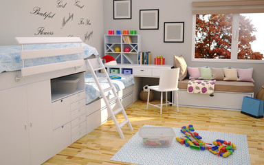 Modern Children Room