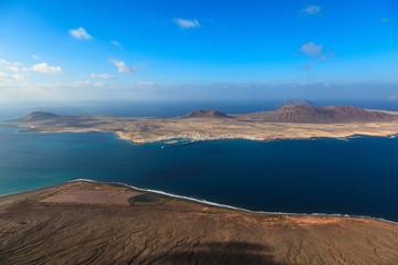 La Graciosa Island. Canarias.