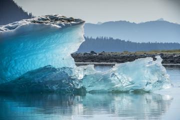 Sparkling Blue Iceberg, Endicott Arm, Alaska