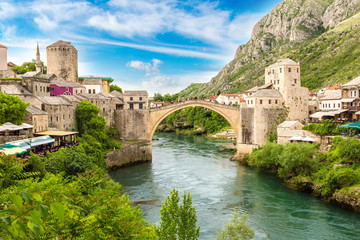 The Old Bridge in Mostar Wall mural