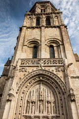 .Church of Sts. Radegund at Poitiers, France