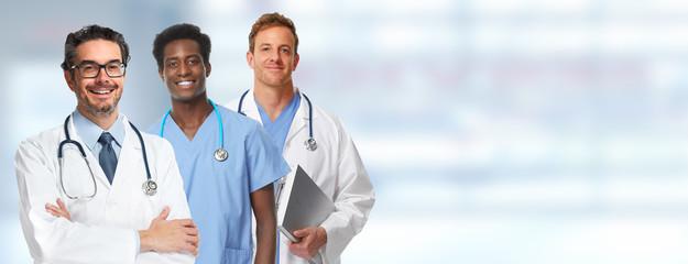Doctor pharmacist group.
