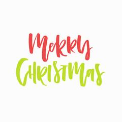 Unique Christmas Lettering