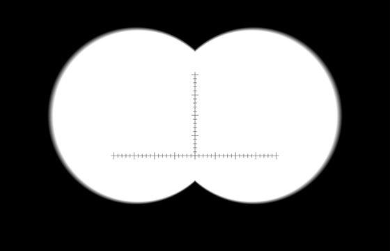 binoculars with soft (blurred) edges. Vector illustration Binocular with sharp edges #128545961