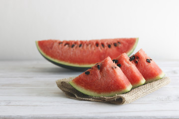 Stock Photo:.Slices of watermelon