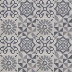 decorative tile pattern , geometric patchwork design