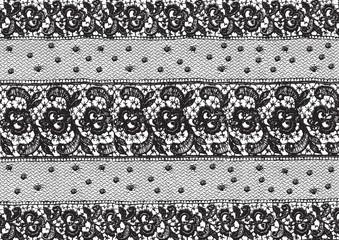 Floral victorian lace