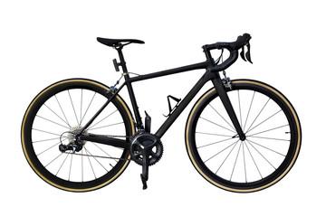 Aluminium Prints Bicycle race road bike isolated on white background