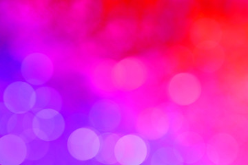 Colorful Bokeh Background and New Year feast bokeh background with copyspace.(Colorful Blurred Wallpaper)