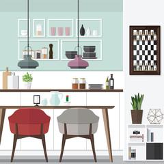 Cool Dining Room Design