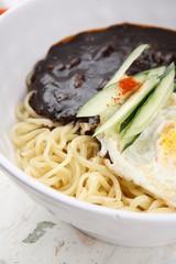 jajangmyeon, black-bean-sauce noodles, 짜장면