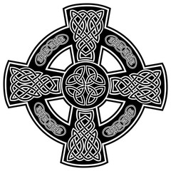 Vector illustration sign celtic cross