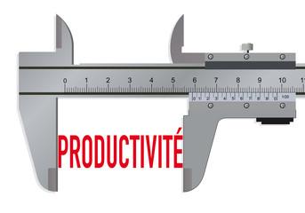 Productivité - mesurer - économie - rentabilité