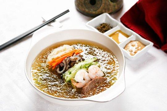 중국냉면,Jungguk naengmyeon, 냉면,  Chinese-style Cold Buckwheat Noodles