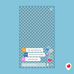 hearts by periscope. Program to broadcast video over the Internet