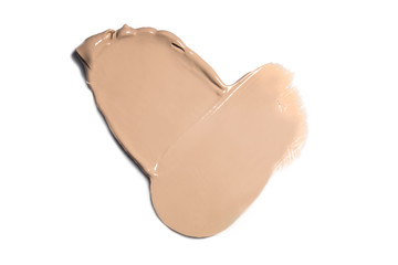 Isolated liquid foundation sample