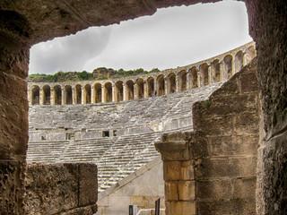 Römisches Amphitheater Aspendos, Türkei