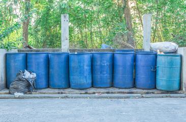 Blue bins public