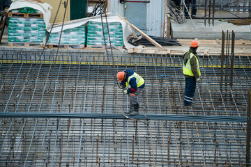 Builder construction of basement