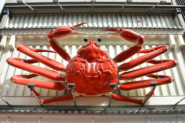 Beautiful 3D Moving Giant Crab Billboard