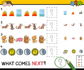 educational pattern game