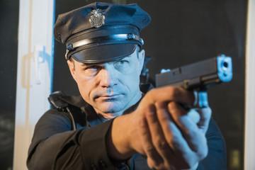 COP USA is holding a gun