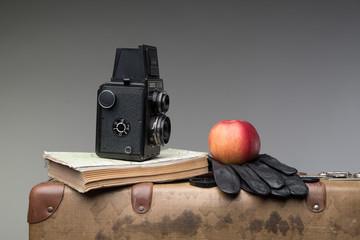 Walizka i aparat