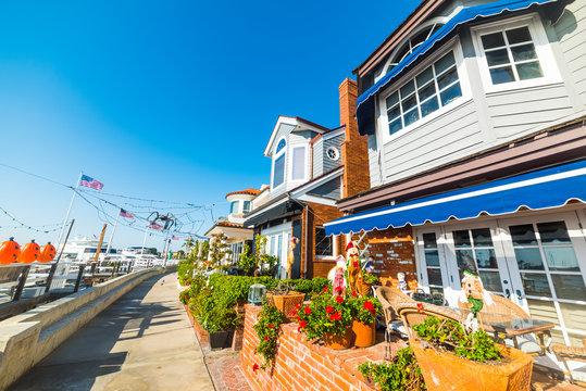 Beautiful houses in Newport Beach