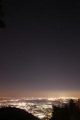 Sternenhimmel über Heidelberg
