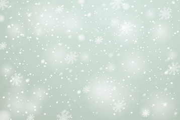 Winter with snow