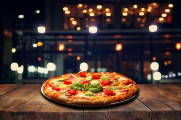 Papiers peints Pizzeria outdoor pizza