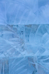 ice transparent wal