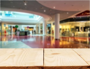 Shopping mall.