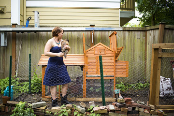 From small, homemade structures to large, elaborate homes, chicken coops are growing in popularity in the country.